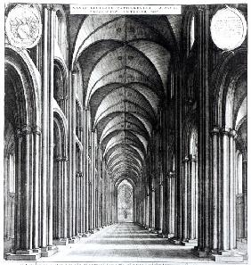 Interior of the nave of St. Paul''s