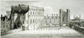 The Palace of Whitehall, from a drawing in the Pepysian Library, Cambridge