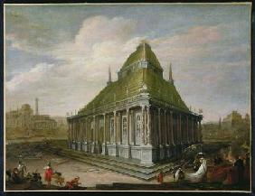 The Seven Wonders of the World: The Mausoleum at Halicarnassus