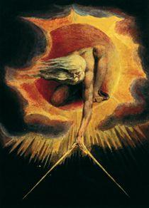 William Blake - Dios creando el universo