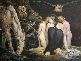 Hekate or three Parcae or three night of Enitharmo