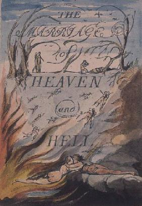 Title Page, from Marriage of Heaven and Hell