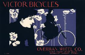 Victor Bicycles, Overman Wheel Co (Poster)