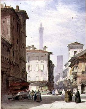 Leaning Tower, Bologna
