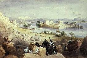 The Island of Philae, looking down the River Nile