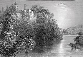 Lismore Castle, Lismore, County Waterford, Ireland, from 'Scenery and Antiquities of Ireland' by Geo