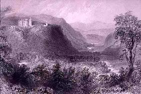 Vale of Avoca, County Wicklow, Ireland, from 'Scenery and Antiquities of Ireland' by George Virtue,