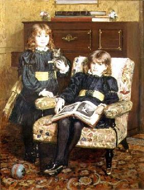 Portrait of May and Violet Craik