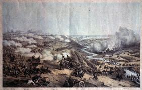 The Battle of the Alma on September 20, 1854