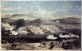 The Battle of Balaclava on October 25, 1854. The Charge of the Light Brigade