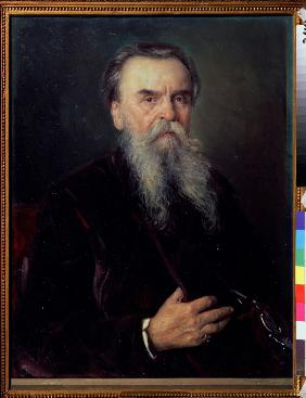 Portrait of the collector Ivan Tsvetkov (1845-1917)