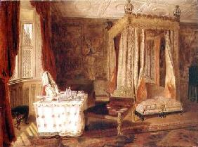 Henderson W.S.P. - Interior of a Bedroom at Knole, Kent